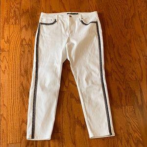 Lauren Ralph Lauren cropped White Jeans 12